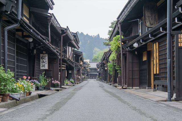 高山-古い町並み